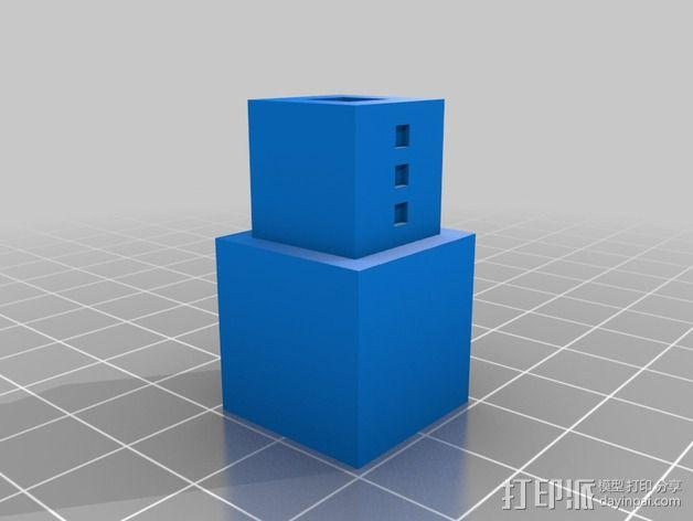 雪傀儡 3D模型  图2