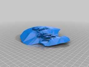 流水别墅 3D模型