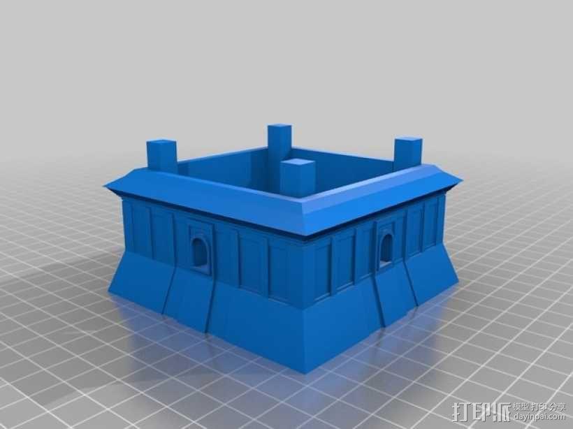 大雁塔 3D模型  图2