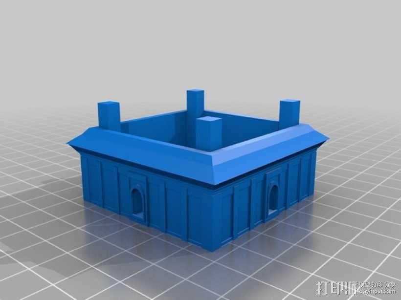 大雁塔 3D模型  图3