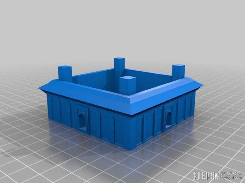 大雁塔 3D模型  图4