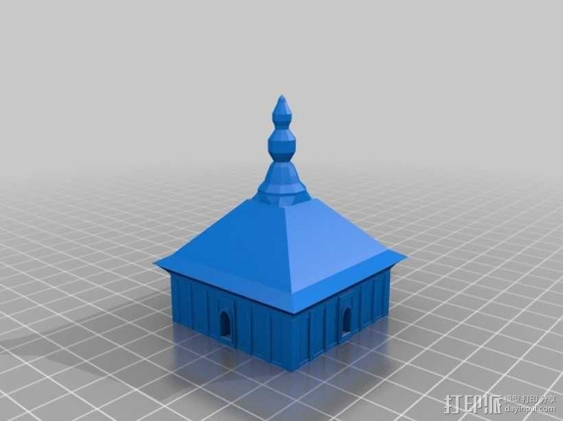 大雁塔 3D模型  图7
