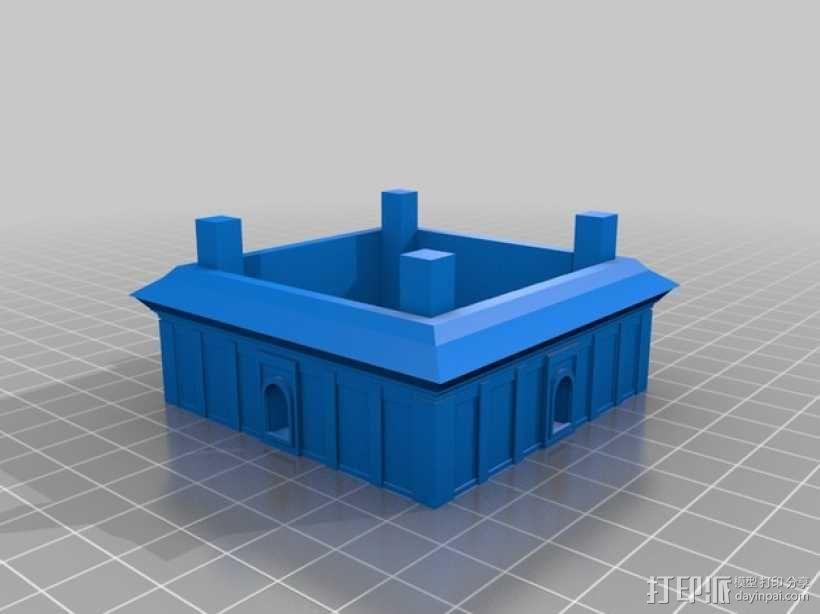 大雁塔 3D模型  图6