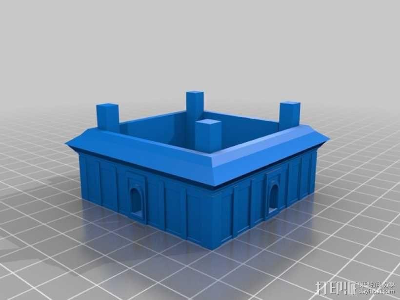 大雁塔 3D模型  图8