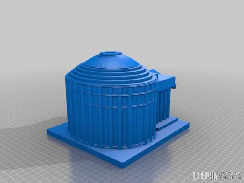 万神殿 3D模型  图1