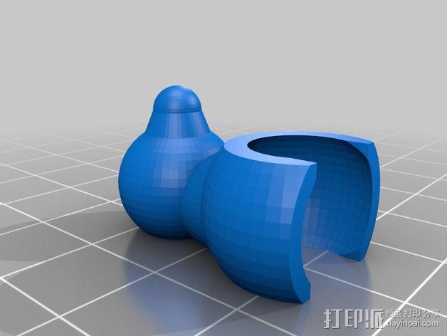 海星 3D模型  图4