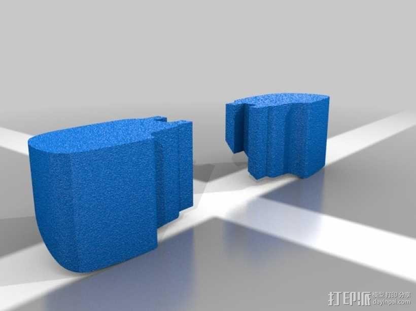 Chevrolet Silverado雪佛兰卡车 3D模型  图5