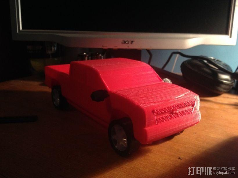Chevrolet Silverado雪佛兰卡车 3D模型  图8