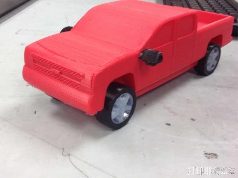 Chevrolet Silverado雪佛兰卡车 3D模型  图7
