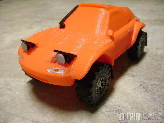 Rally Raid 跑车 3D模型  图1