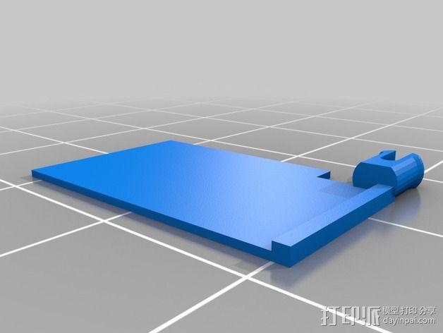Rally Raid 跑车 3D模型  图2