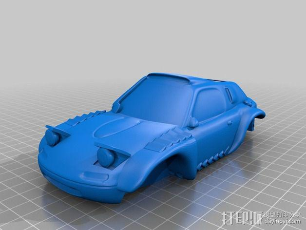 Rally Raid 跑车 3D模型  图12