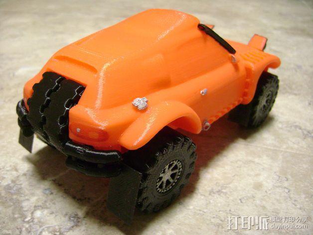 Rally Raid 跑车 3D模型  图14