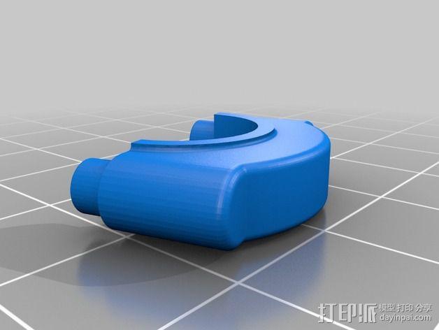 Ford Zetec 发动机  3D模型  图2