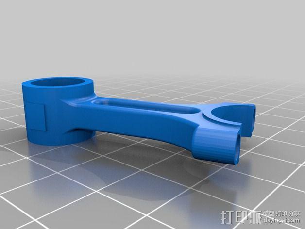 Ford Zetec 发动机  3D模型  图4