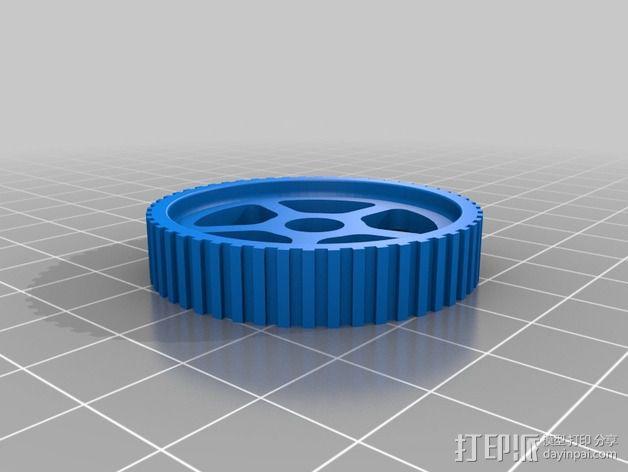 Ford Zetec 发动机  3D模型  图5