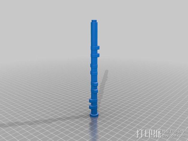 Ford Zetec 发动机  3D模型  图7