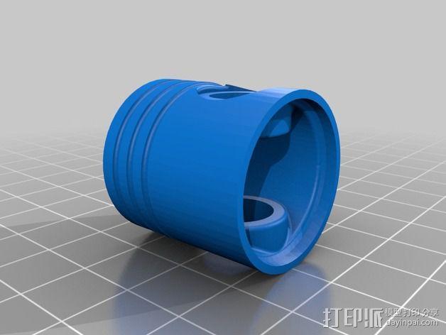 Ford Zetec 发动机  3D模型  图9