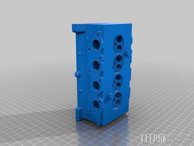 Ford Zetec 发动机  3D模型  图12