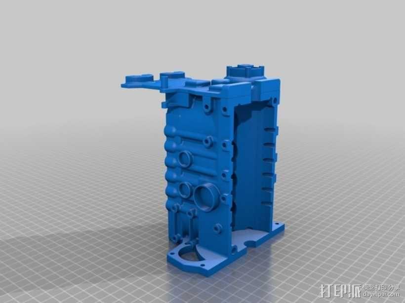 Ford Zetec 发动机  3D模型  图13
