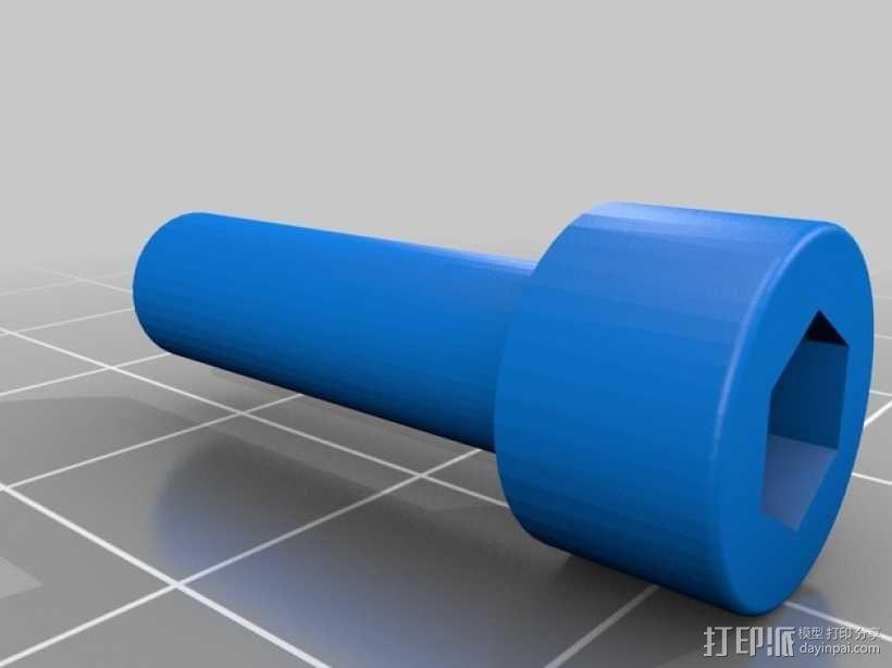 火星车车轮 3D模型  图2