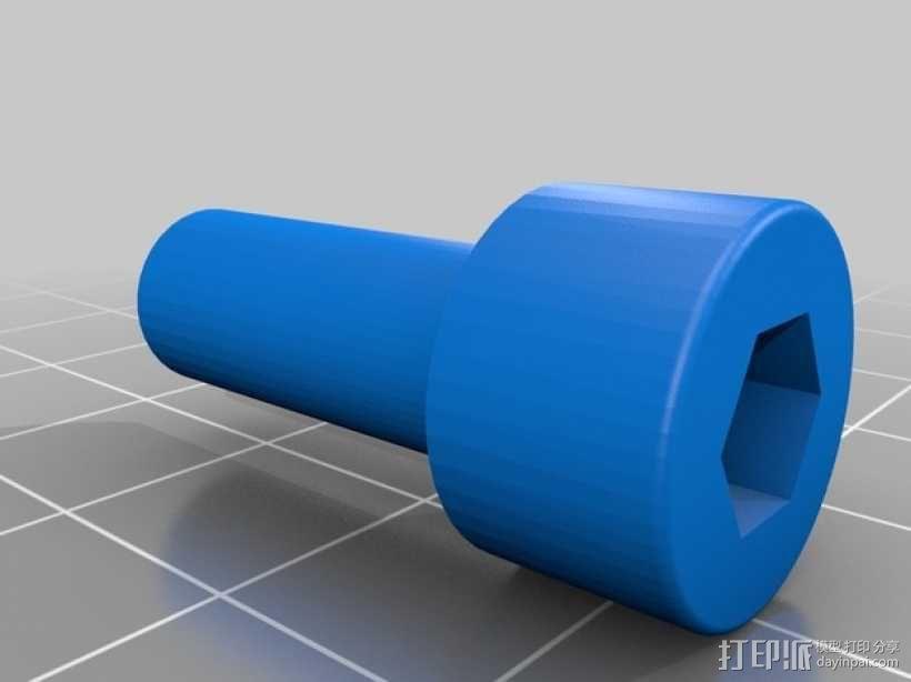 火星车车轮 3D模型  图3