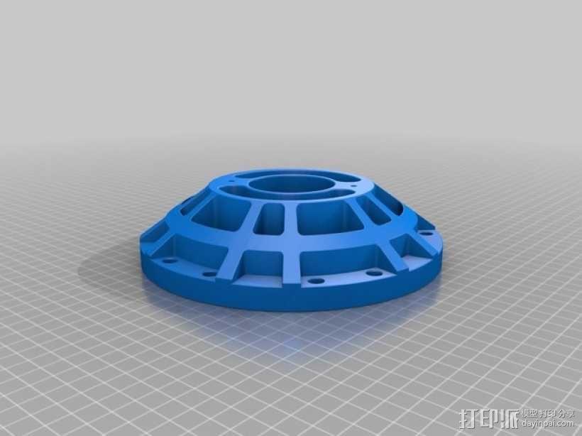 火星车车轮 3D模型  图5