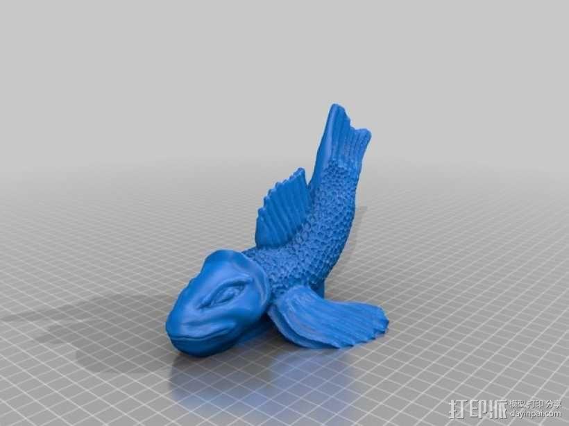 鱼 3D模型  图1