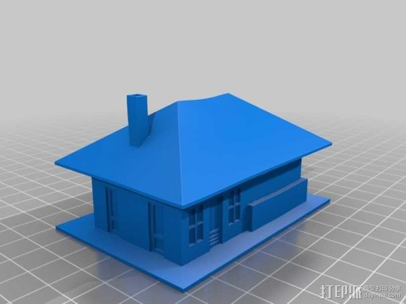 Dante火车站 3D模型  图2