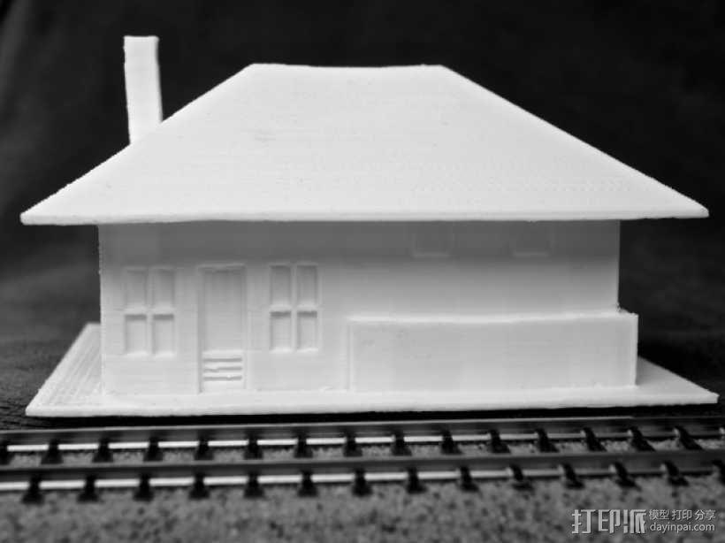 Dante火车站 3D模型  图3