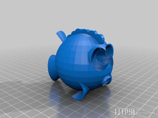 鱼 小鲭鱼 3D模型  图5