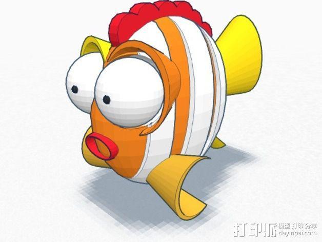 鱼 小鲭鱼 3D模型  图6