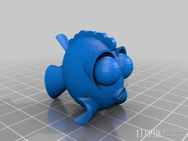 鱼 小鲭鱼 3D模型  图9