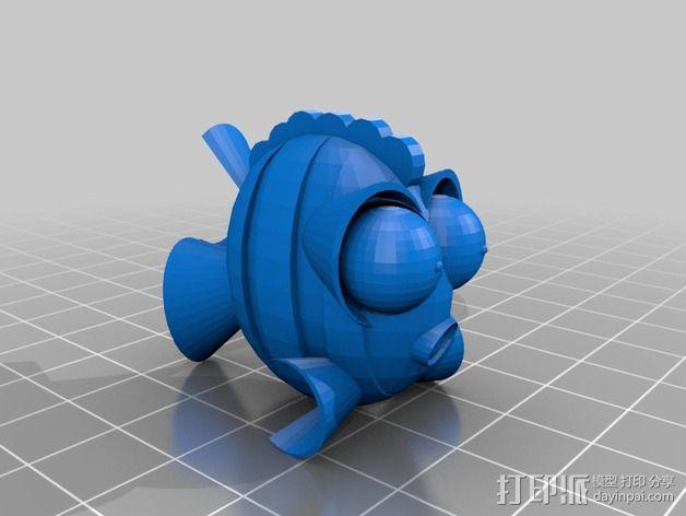鱼 小鲭鱼 3D模型  图7
