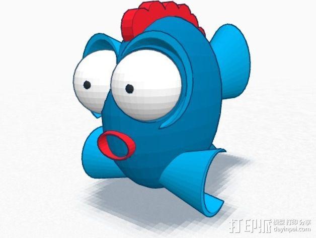 鱼 小鲭鱼 3D模型  图8