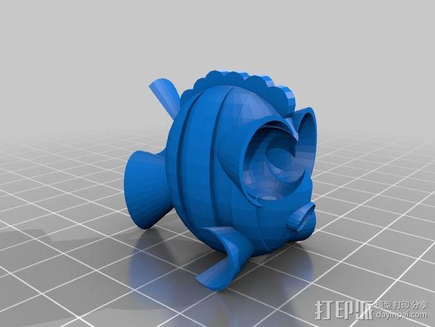 鱼 小鲭鱼 3D模型  图11