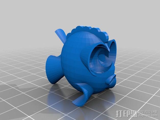 鱼 小鲭鱼 3D模型  图12