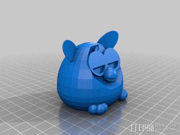 菲比精灵 玩偶 3D模型  图1