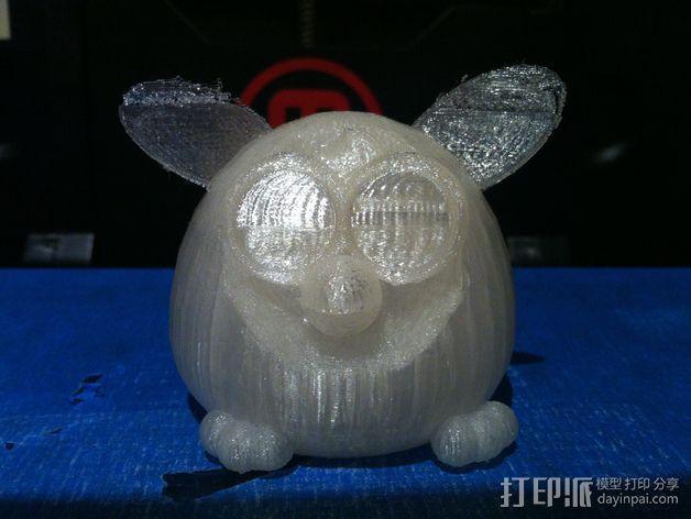 菲比精灵 玩偶 3D模型  图2