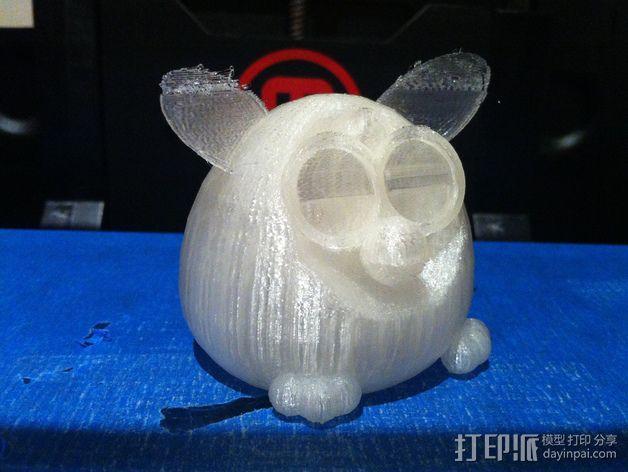 菲比精灵 玩偶 3D模型  图4