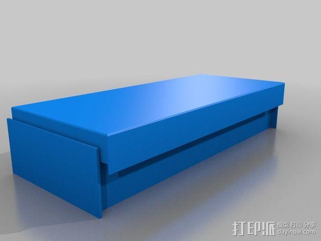 床 3D模型  图1