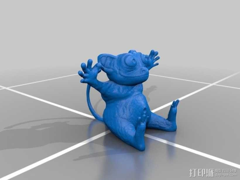 眼镜猴 3D模型  图2
