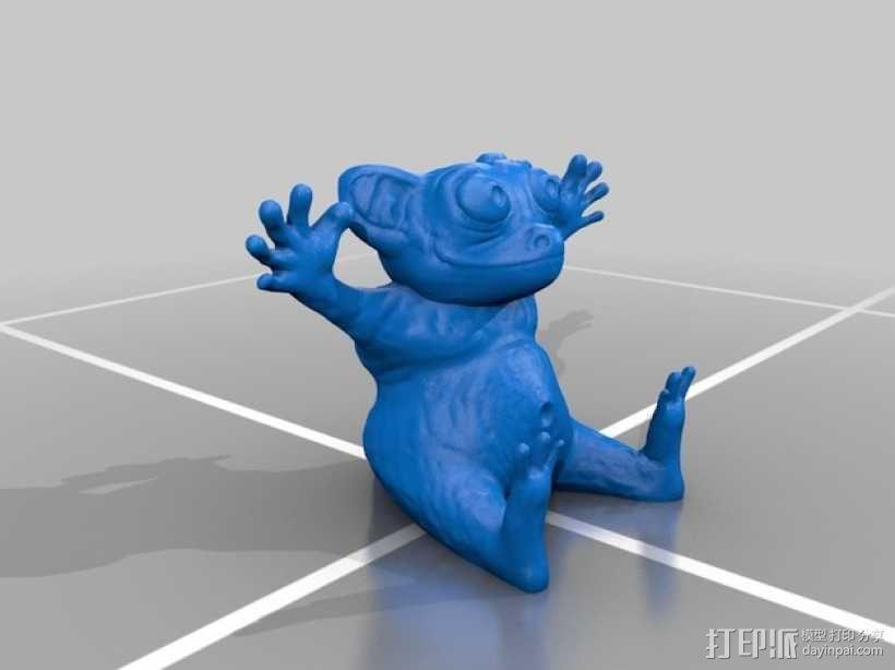 眼镜猴 3D模型  图3