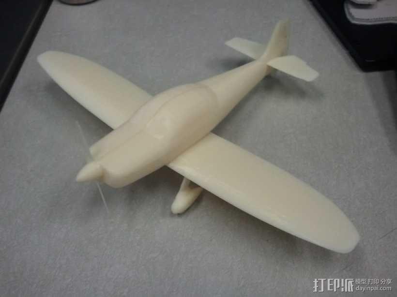 CP320 Super Emeraude民航飞机 3D模型  图1