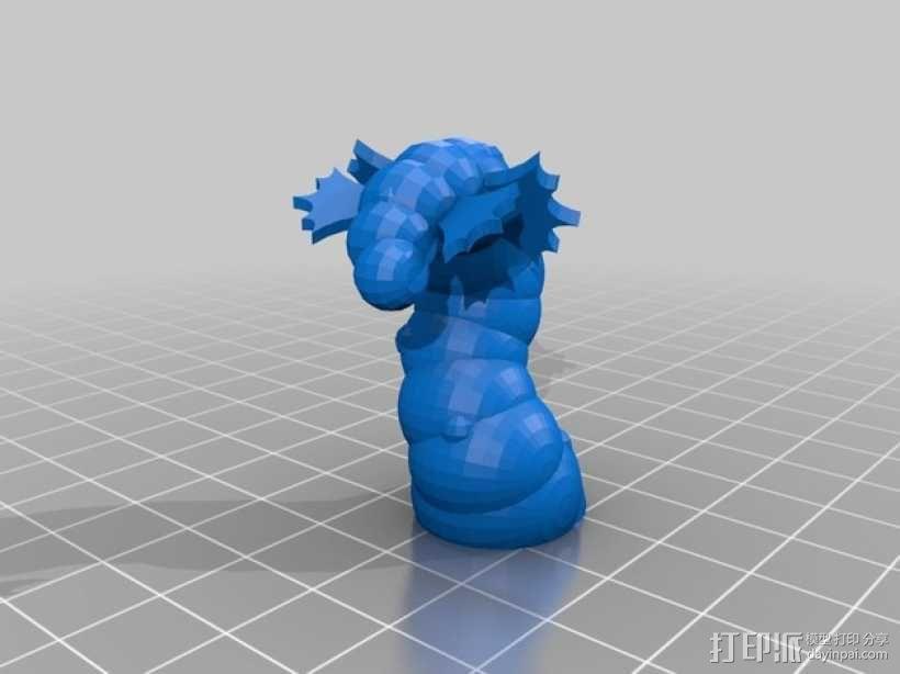 Fabulous Hillar海怪 3D模型  图2