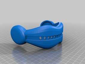 独眼巨人护目镜 3D模型