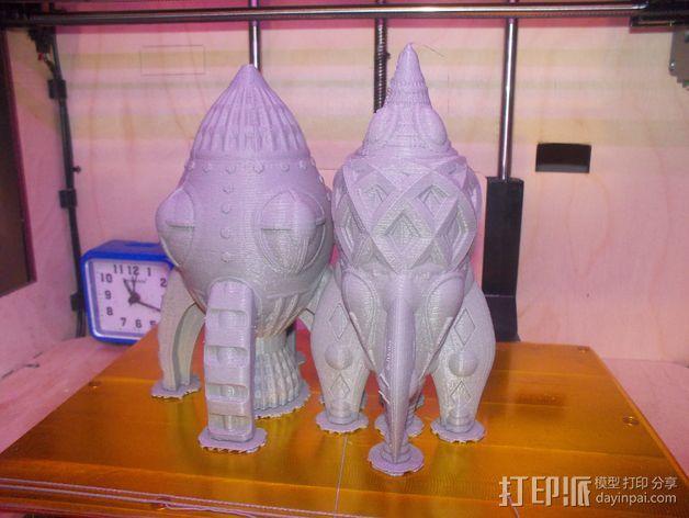 复古火箭 3D模型  图3