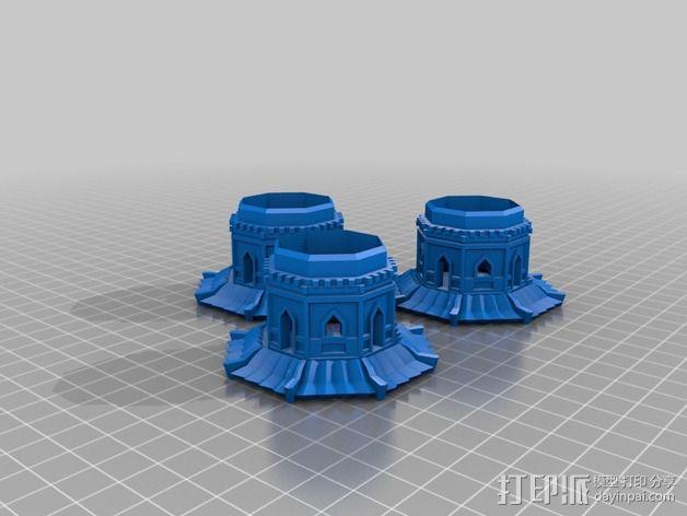 玉峰塔 3D模型  图4