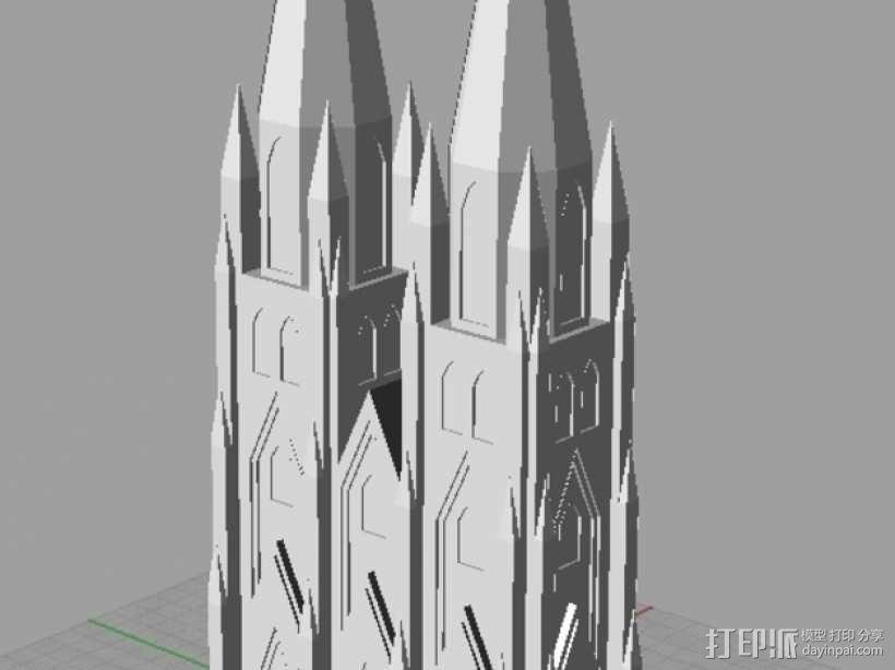 科隆大教堂 3D模型  图5