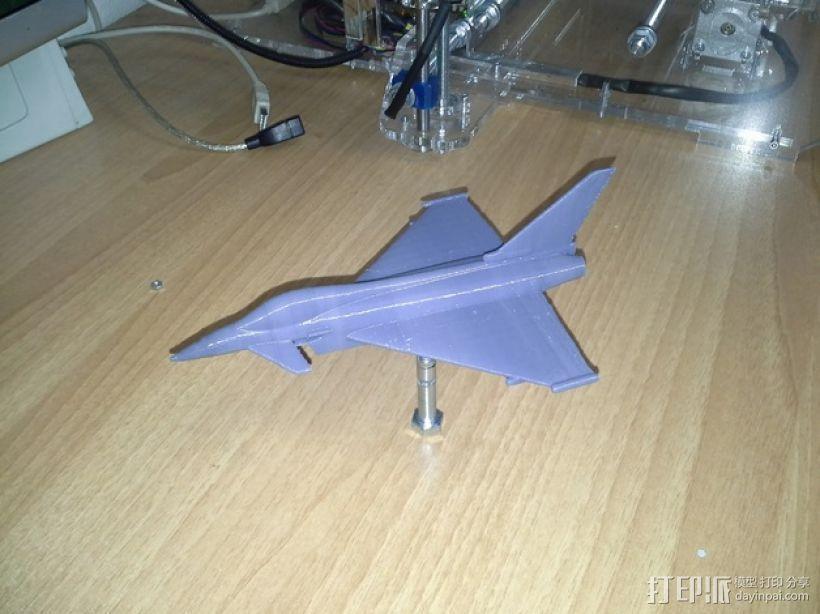 Eurofighter_Typhoon战斗机 3D模型  图3
